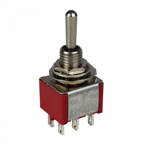 DPDT ON-OFF-ON MINI TOGGLE
