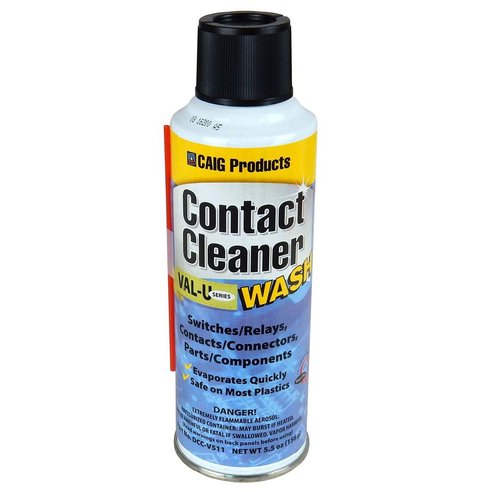 CONTACT CLEANER WASH, 5.5 OZ