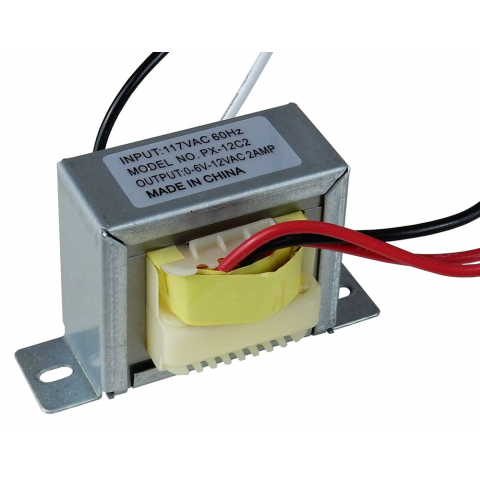 12 V.C.T. @ 2 AMP POWER TRANSFORMER