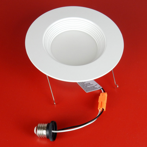 "5-6"" 12W LED RETROFIT DOWNLIGHT, WARM-WHITE"