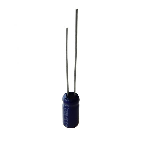 3.3 MFD 50V RADIAL 105C ELECTROLYTIC CAPACITOR