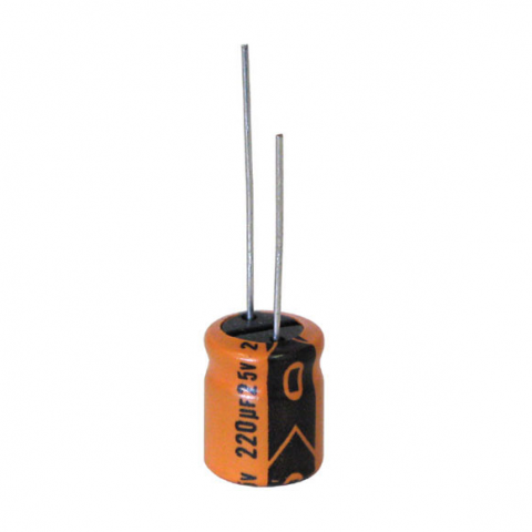 220 MFD 25V RADIAL 105C ELECTROLYTIC CAPACITOR