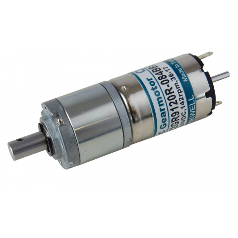 6-24 VDC GEAR MOTOR, 1:84 RATIO