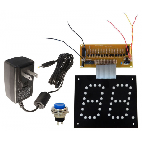 2-DIGIT COUNTER W/POWER SUPPLY