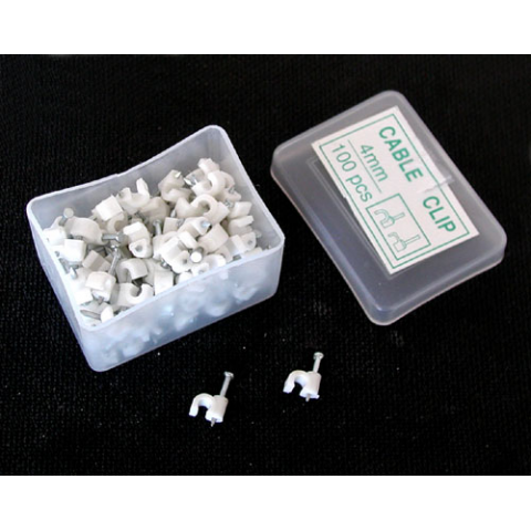 "4MM (0.15"") INSULATED STAPLES, 100 PIECES"