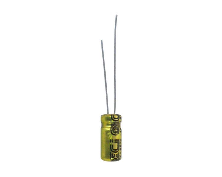 10 MFD 25 V RADIAL ELECTROLYTIC CAPACITOR
