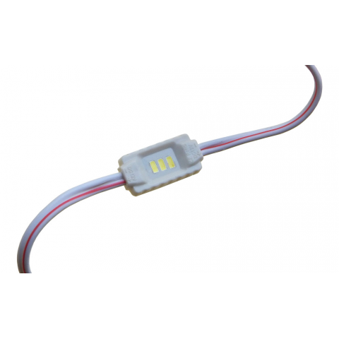 LOW PROFILE 3-LED MINI MODULE, COOL-WHITE