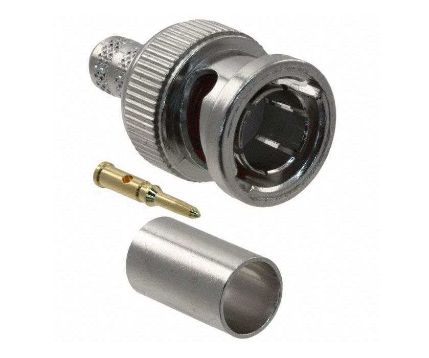 AMPHENOL BNC MALE PLUG, CRIMP-ON FOR RG59/U