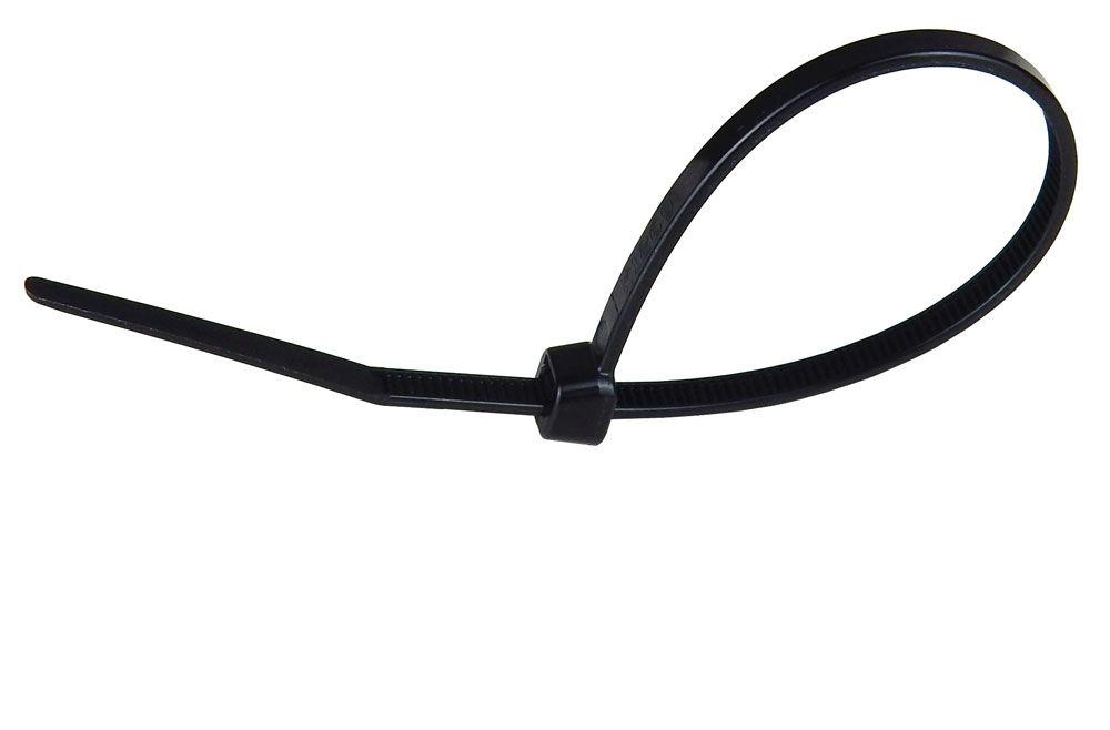 "6"" CABLE TIE, BLACK"