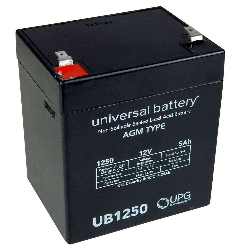 12 VOLT 5 AH GEL CELL BATTERY