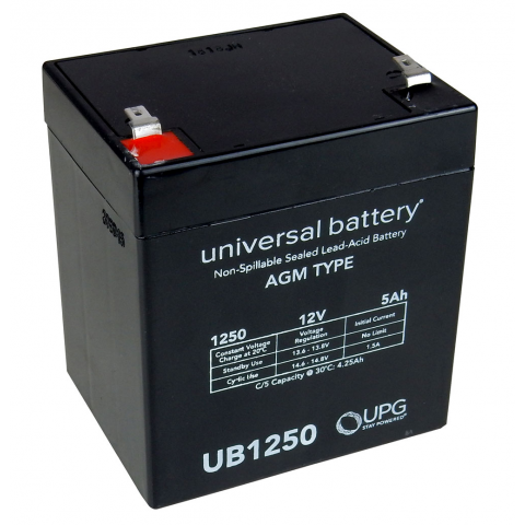 12 VOLT 5 AH GEL CEL BATTERY