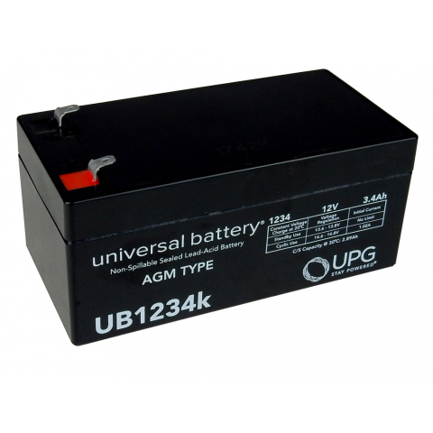 12V 3.4AH GEL CELL BATTERY