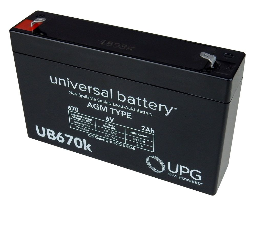 6 V 7AH SEALED LEAD-ACID BATTERY