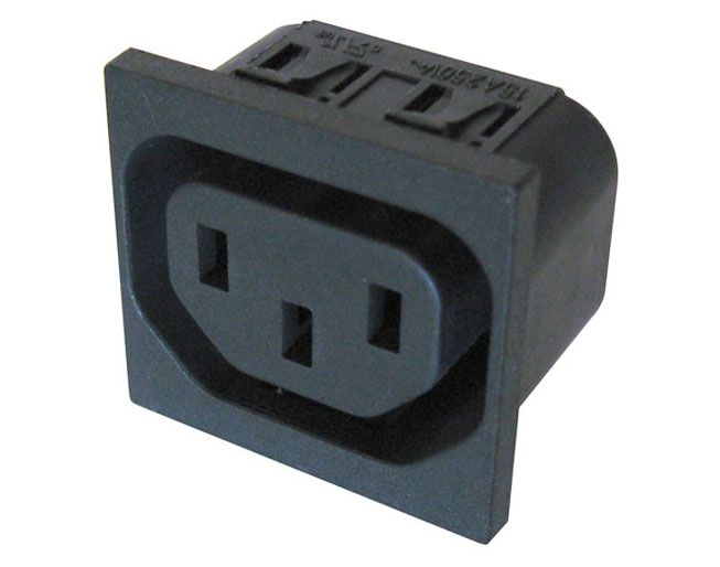PC MOUNT RECEPTACLE