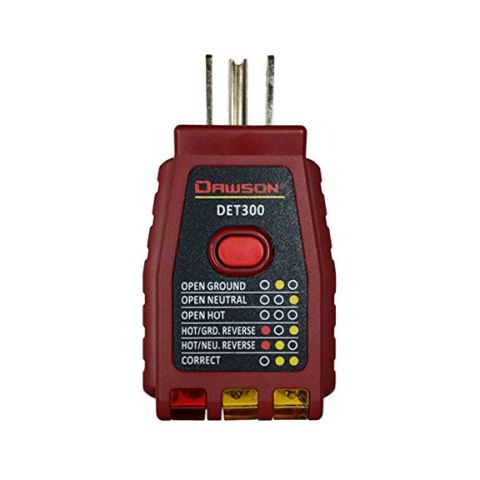 3 WIRE/GFCI OUTLET TESTER