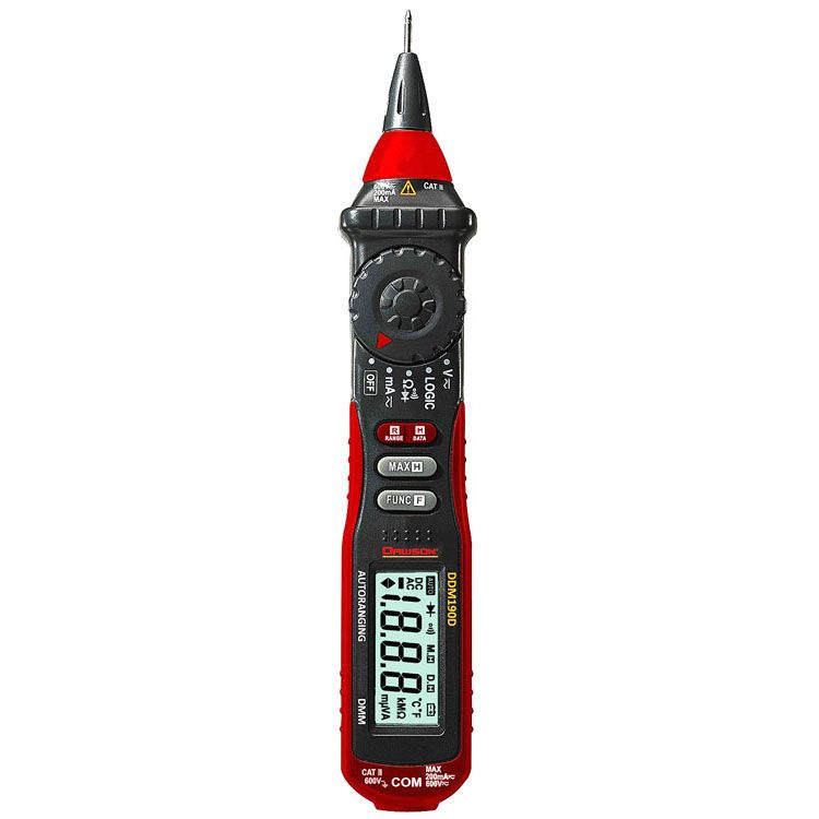 DIGITAL MULTIMETER W/ LOGIC TEST | All Electronics Corp
