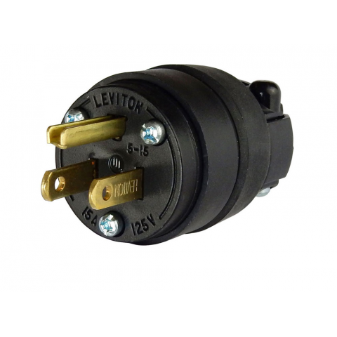 3-PRONG GROUNDING AC PLUG