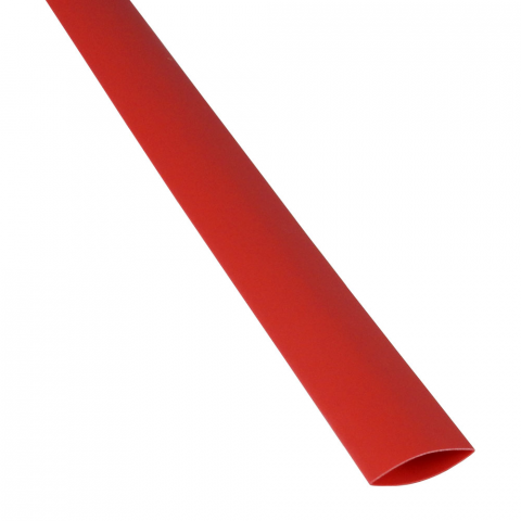 "1/2"" X 4' HEATSHRINK TUBE, RED"