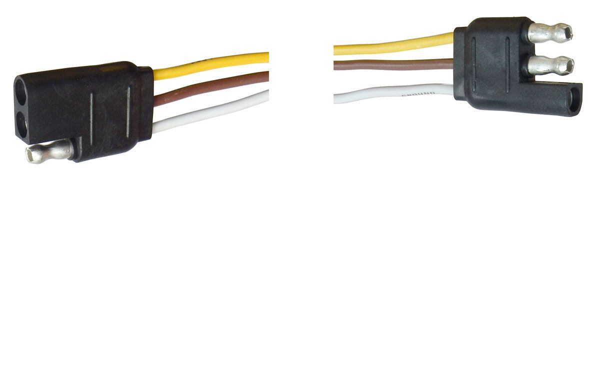 3-CONDUCTOR WEATHER-RESISTANT CONNECTOR, 16AWG
