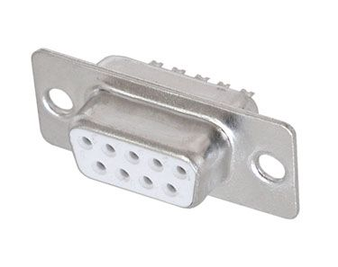 D-SUB CONNECTOR, 9 PIN FEMALE
