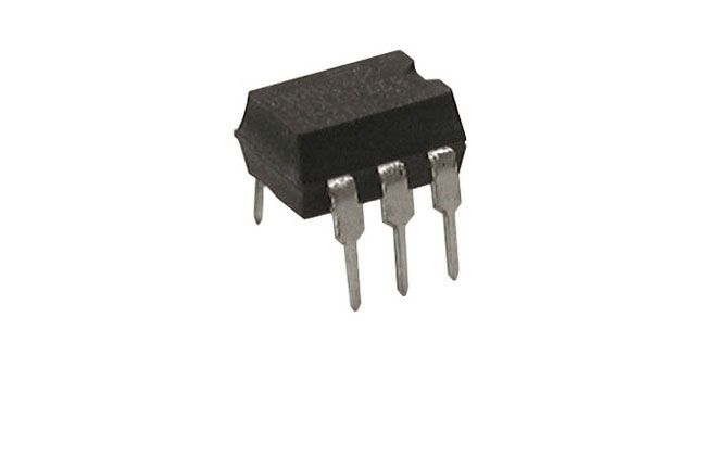 4N33 OPTOISOLATOR, DARLINGTON OUTPUT