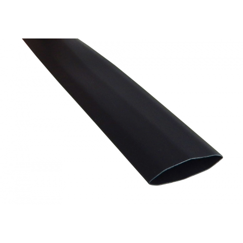 "3/4"" X 4' HEATSHRINK TUBE, BLACK"