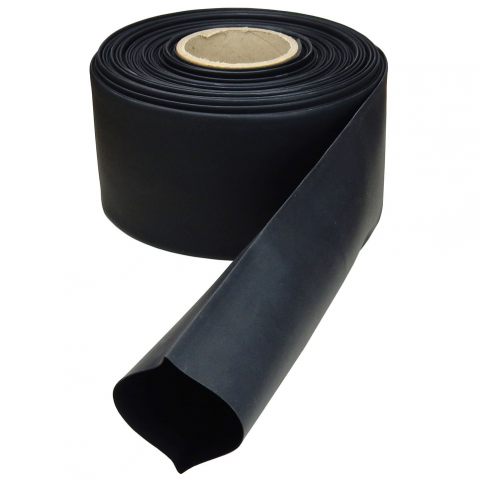 "3"" DIAMETER HEAT SHRINK TUBING, BLACK"