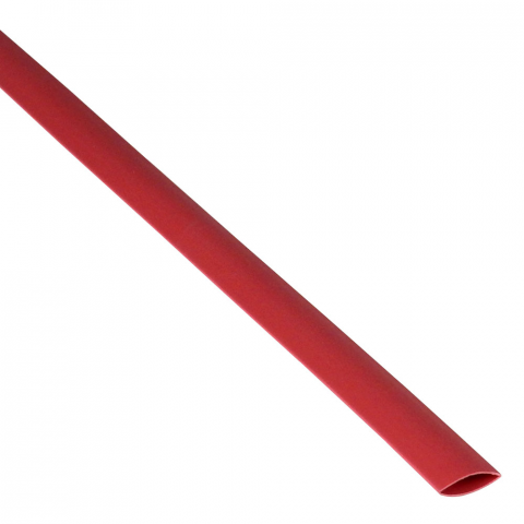 "3/8"" X 4' HEATSHRINK TUBE, RED"