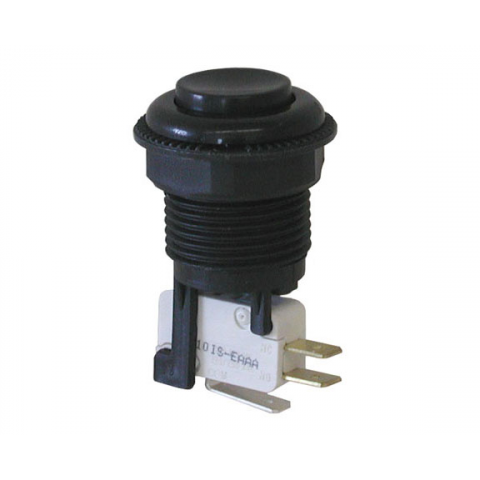 BLACK JUMBO PUSHBUTTON SWITCH