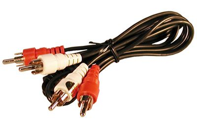 "36"" DUAL SHIELDED RCA CABLE"