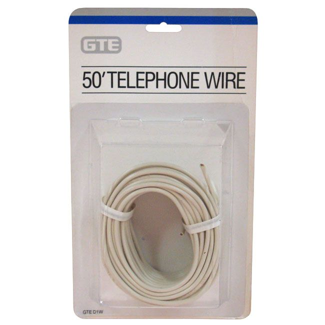 SPECIAL, 4-CONDUCTOR PHONE WIRE, 50'