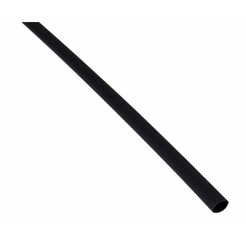 "3/16"" X 4' HEATSHRINK TUBE, BLACK"