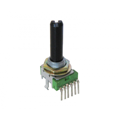 5K AUDIO TAPER DUAL POTENTIOMETER
