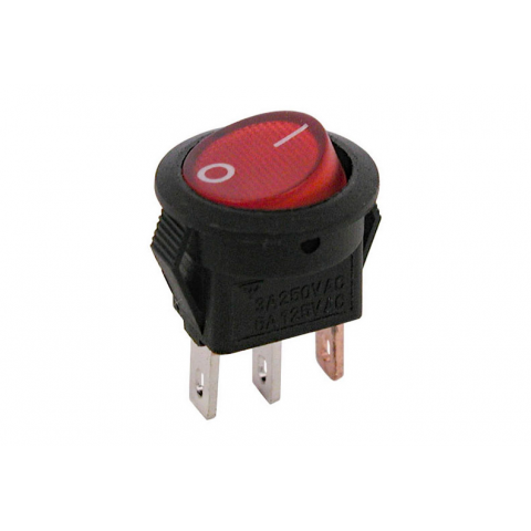 12v Lighted Rocker Switch All Electronics Corp