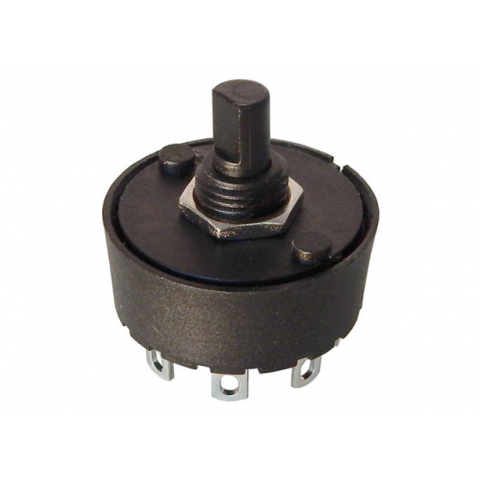 6 POSITION 10 AMP ROTARY SWITCH
