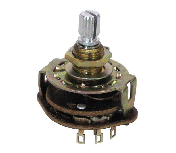 ROTARY SWITCH, 2-POLE, 3-POSITION | All Electronics Corp