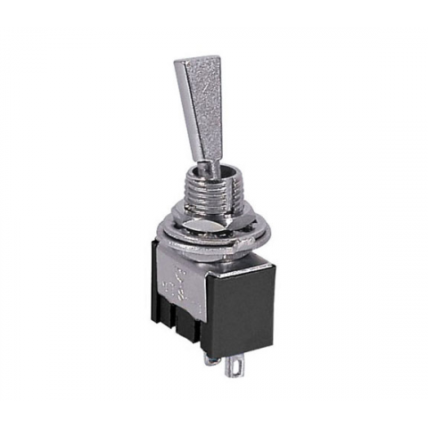 SPST ON-OFF MINI-TOGGLE SWITCH