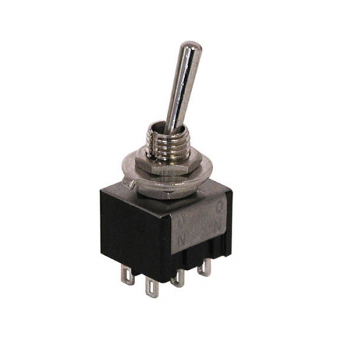 DPDT ON-ON MINI TOGGLE SWITCH