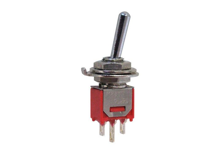SPDT ON-ON SUB-MIN TOGGLE SWITCH
