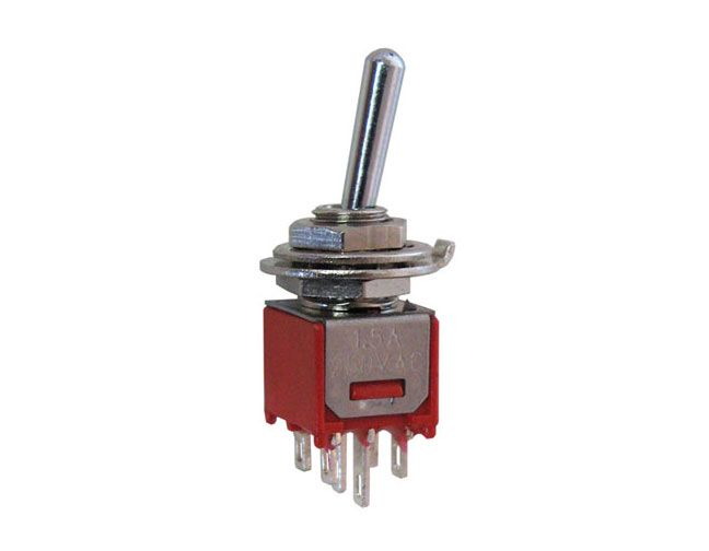 DPDT ON-ON SUB-MINI TOGGLE SWITCH