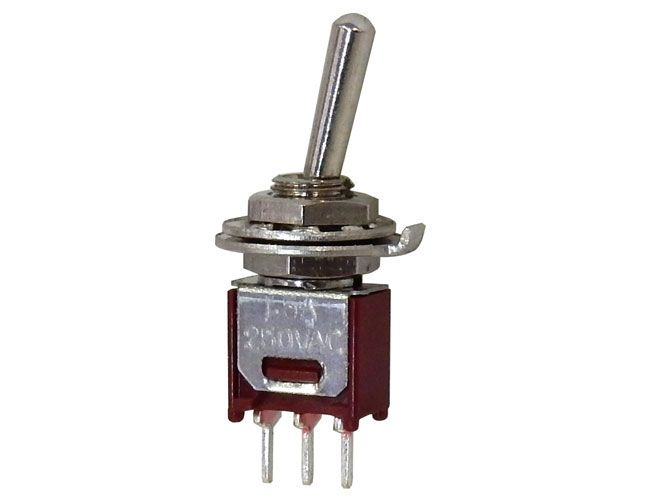 SPDT ON-ON SUB-MINI TOGGLE SWITCH
