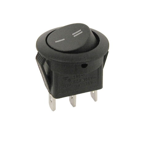 SPDT ROUND ROCKER SWITCH