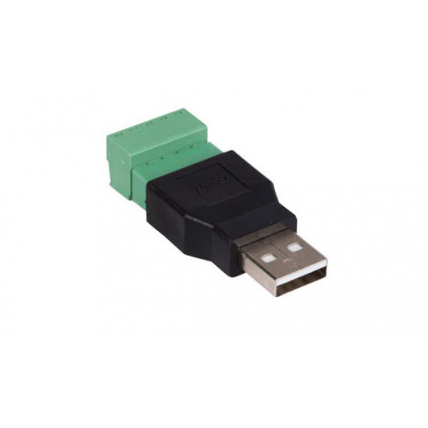 USB BREAKOUT CONNECTOR, MALE