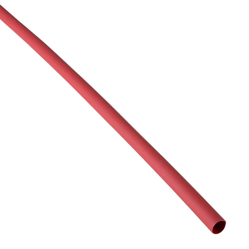"1/4"" X 4' HEATSHRINK TUBE, RED"