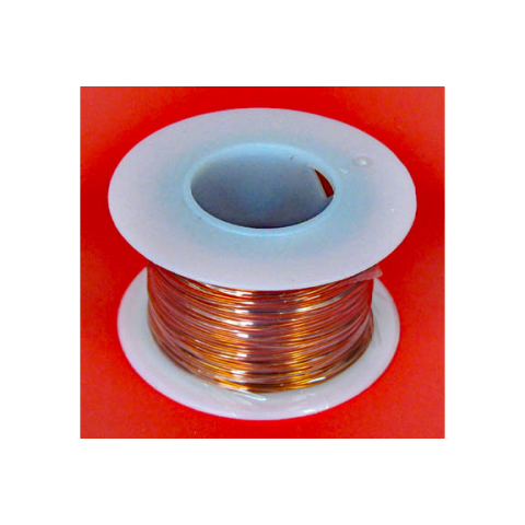 18 AWG MAGNET WIRE, 1/4 LB ROLL