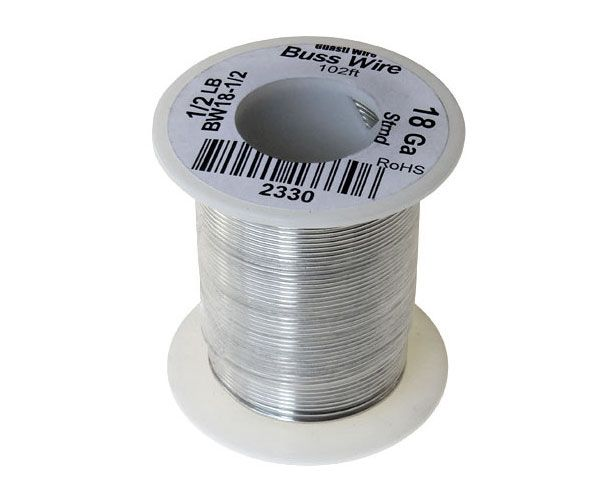 18 GAUGE BUSS WIRE, 1/2 LB ROLL