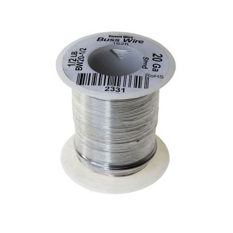 20 GAUGE BUSS WIRE, 1/2 LB ROLL
