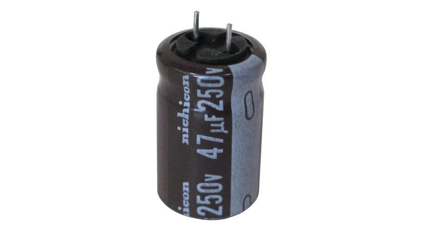 47UF 250V ELECTROLYTIC CAPACITOR, RADIAL