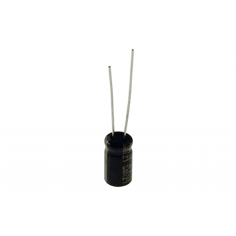 Pack of 5 50V Radial Electrolytic Capacitor E-Projects 105 C 100uF