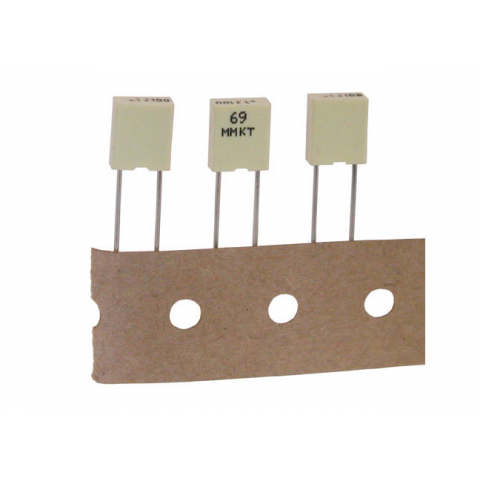 .01UF 400V 10% MINI-METALLIZED POLYESTER CAPACITOR